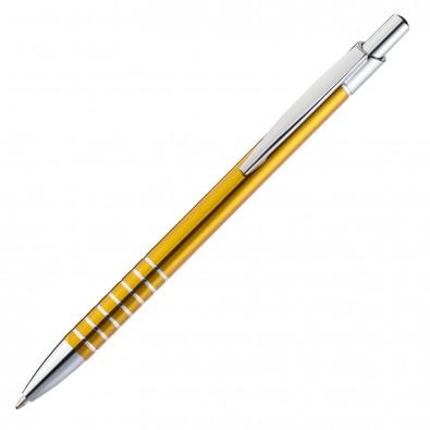 Metall-Kugelschreiber Warschau, Gelb-Gold