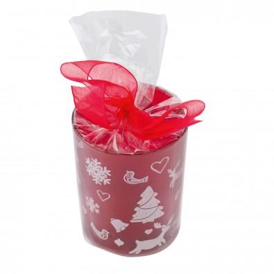 Teelicht Red Rudolph, Rot