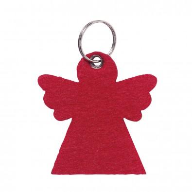 Schlüsselanhänger aus Filz Engel