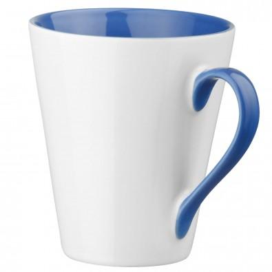 Keramiktasse Maja Weiß/Blau