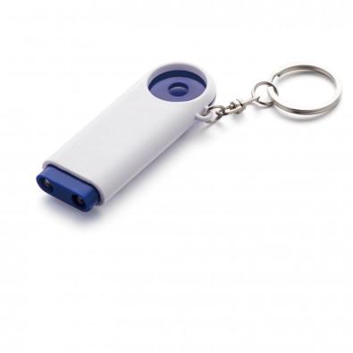 Schlüsselleuchte Shopping, Blau