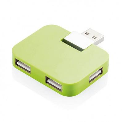 Reise-USB Hub Grün
