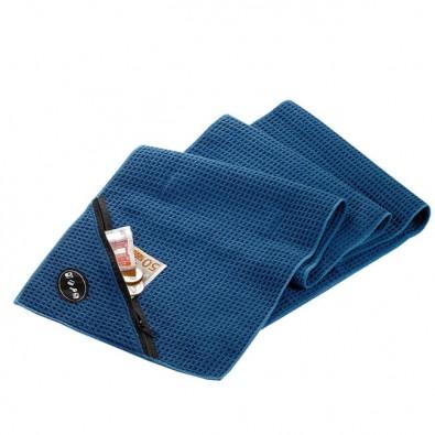 Workout Handtuch Mit Waffelstruktur Blau Bettmerde