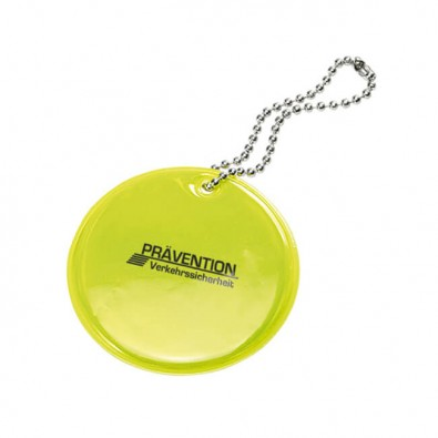 Reflektor-Anhänger Safety Kreis