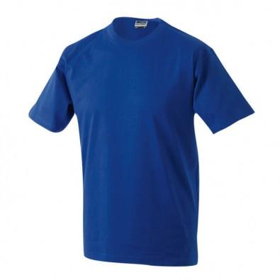 Orig. James & Nicholson Rundhals T-Shirt für Herren Royalblau | L