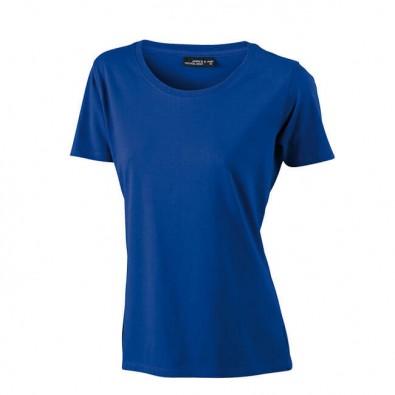 Original James & Nicholson Rundhals T-Shirt für Damen Royalblau | M