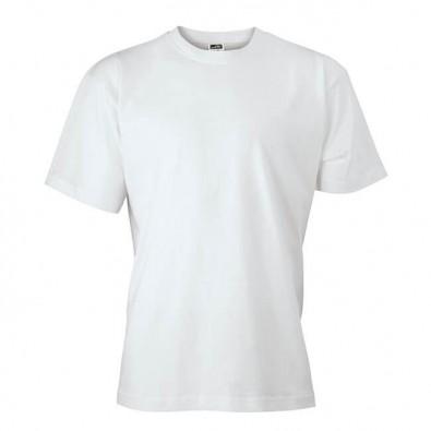 Original James & Nicolson Basic T-Shirt Weiß | XL