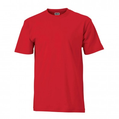 Original James & Nicolson Basic T-Shirt Rot | M