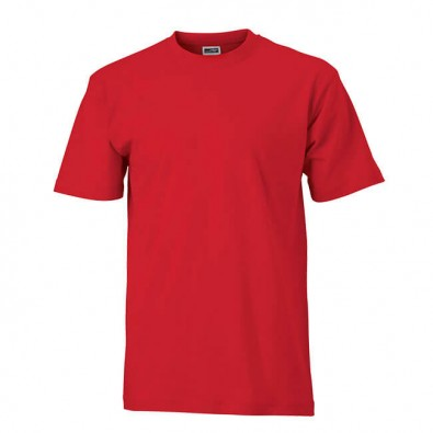 Original James & Nicolson Basic T-Shirt Rot | L