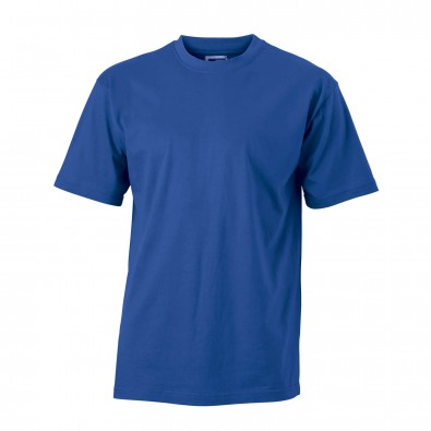Original James  Nicolson Basic T-Shirt, Royalblau, M