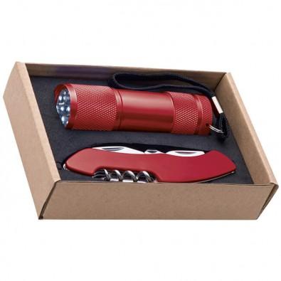 Geschenkset Cut & Light Rot