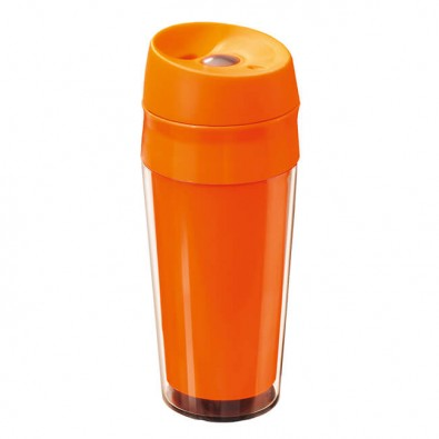 Reisetrinkbecher Travel Orange