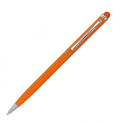 Touch-Metall-Kugelschreiber Orange
