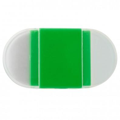 Spitzer-Radierer-Set, Grün