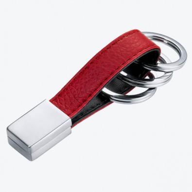 Troika Schlüsselanhänger Twister Rot