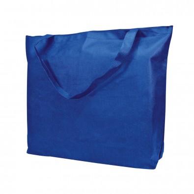 Reissverschluss-Tasche Shopping-Time, Blau