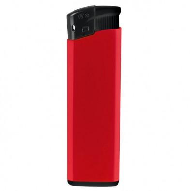 Piezo Feuerzeug  Kontrast, Rot