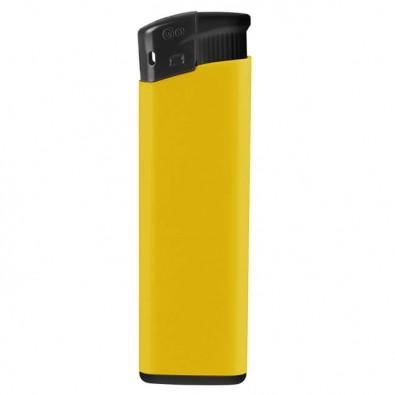 Piezo Feuerzeug  Kontrast Gelb