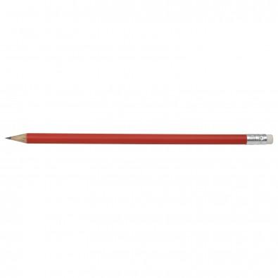 Bleistift Colore mit Radiergummi Rot-Matt