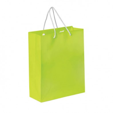 Papiertasche Paper Apfelgrün
