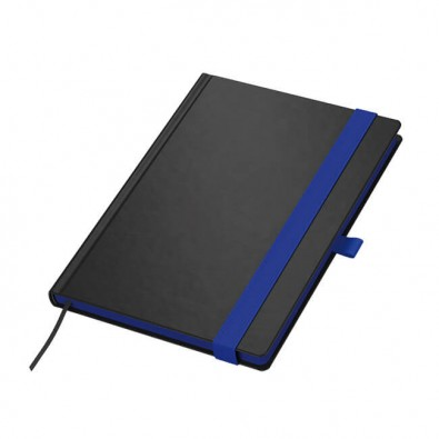 Color-Book DIN A5 Tivoli Soft, Schwarz/Blau