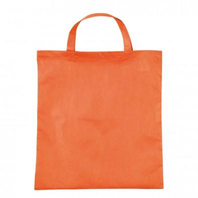 Vliestasche Textile mit kurzen Henkeln Mandarin