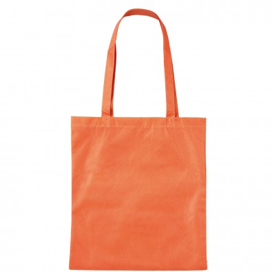 Vliestasche Textile mit langen Henkeln, Mandarin
