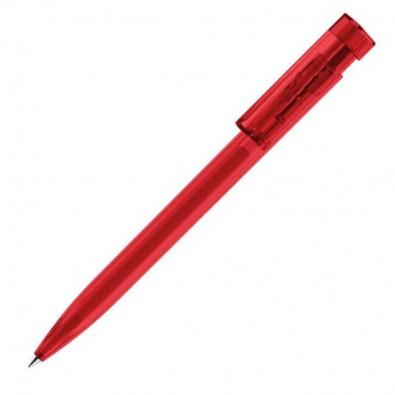 Kugelschreiber Liberty Clear Rot