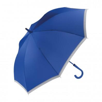 Reflektor-Stockschirm Safety Blau
