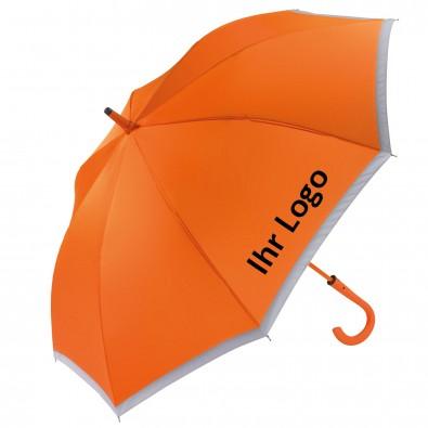 Reflektor-Stockschirm Safety, Orange