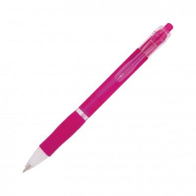 Kugelschreiber Atlantis Pink/Frosted