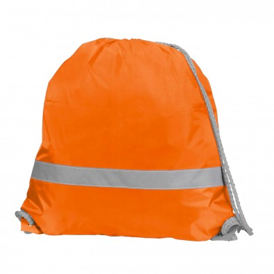 Sportbeutel Safety, Neon-Orange