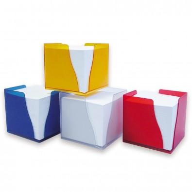 Zettelbox Curve Blau-Gefrostet