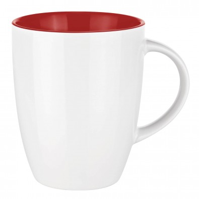 Senator® Tasse Elite Inside Rot/Weiß