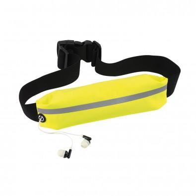 Sport-Hüfttasche, Neongelb