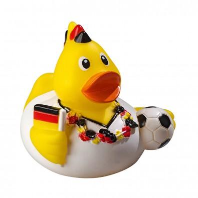 Fußballfan-Ente
