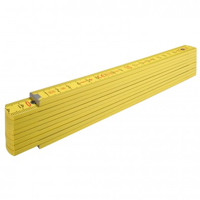 Original Stabila Handwerkermaßstab 400er Serie, Gelb