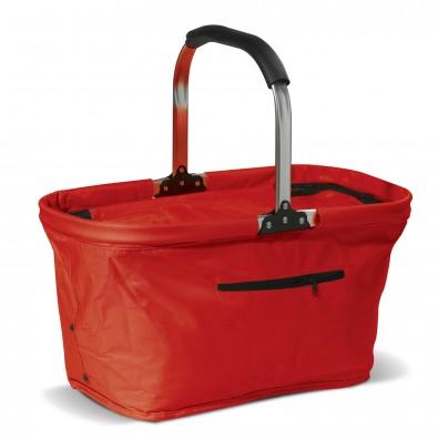 Einkaufskorb mit Kühlfunktion Rot