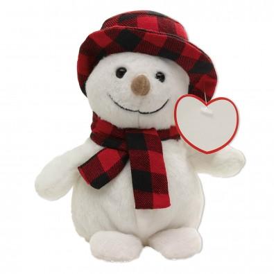 Plüsch-Tiere Cuddly Christmas Schneemann