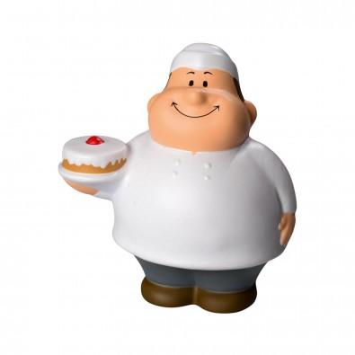 Herr Bert® Anti-Stress-Figuren Geburtstags Bert, weiß