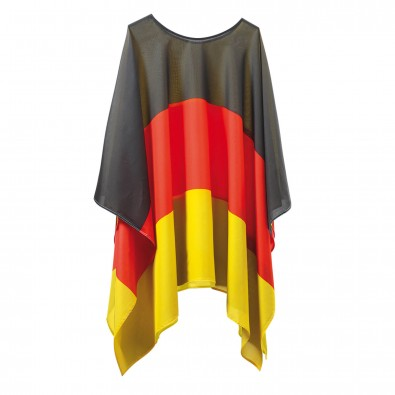 Flaggenponcho Nations Deutschland