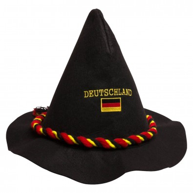 Filzhut Deutschland, schwarz
