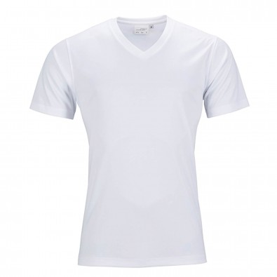 Original James & Nicholson Damen Funktions T-Shirt Active White | XL