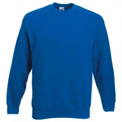 Original Fruit of the Loom® Set-In Sweat-Shirt Royalblau | L