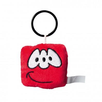Plüsch-Anhänger Monsta, Rot
