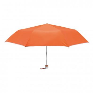 Taschenschirm Easy, Orange/Silber