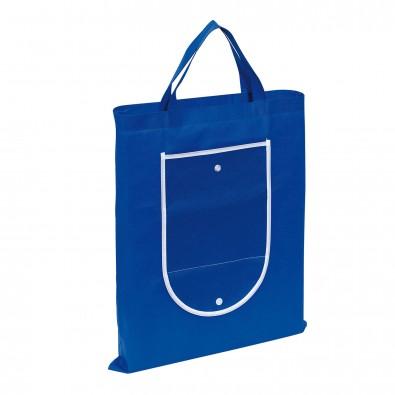 Faltbare Einkaufstasche Colour Blau/Weiß