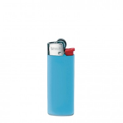 BiC Einwegfeuerzeug MINI Hellblau
