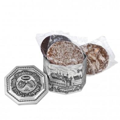 Lebkuchen Seim Silberdose
