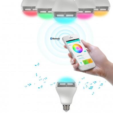 MiPow® LED Licht mit Bluetooth-Lautsprecher Playbulb Color